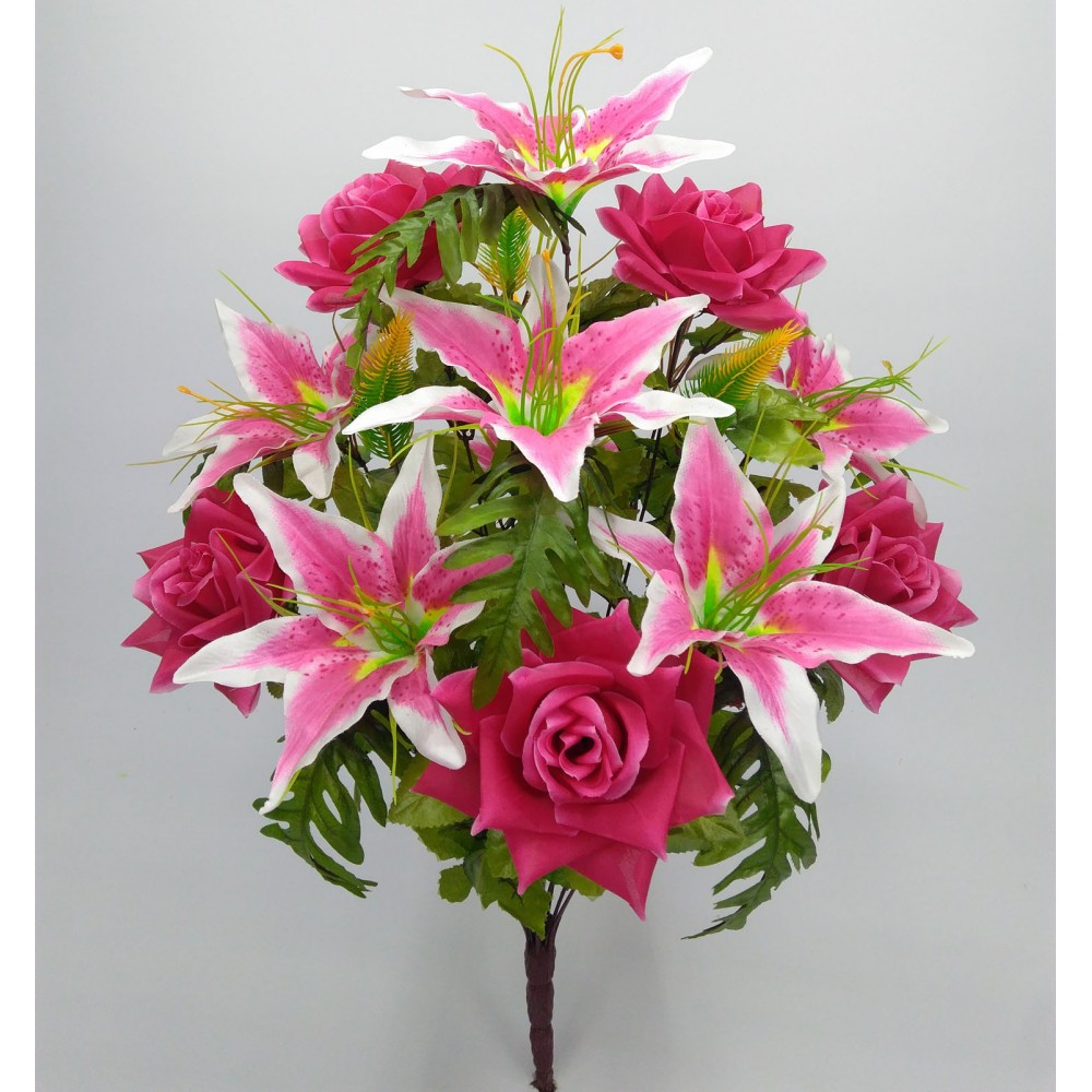 Роза лилия папороть 12-ка Артикул: 41481