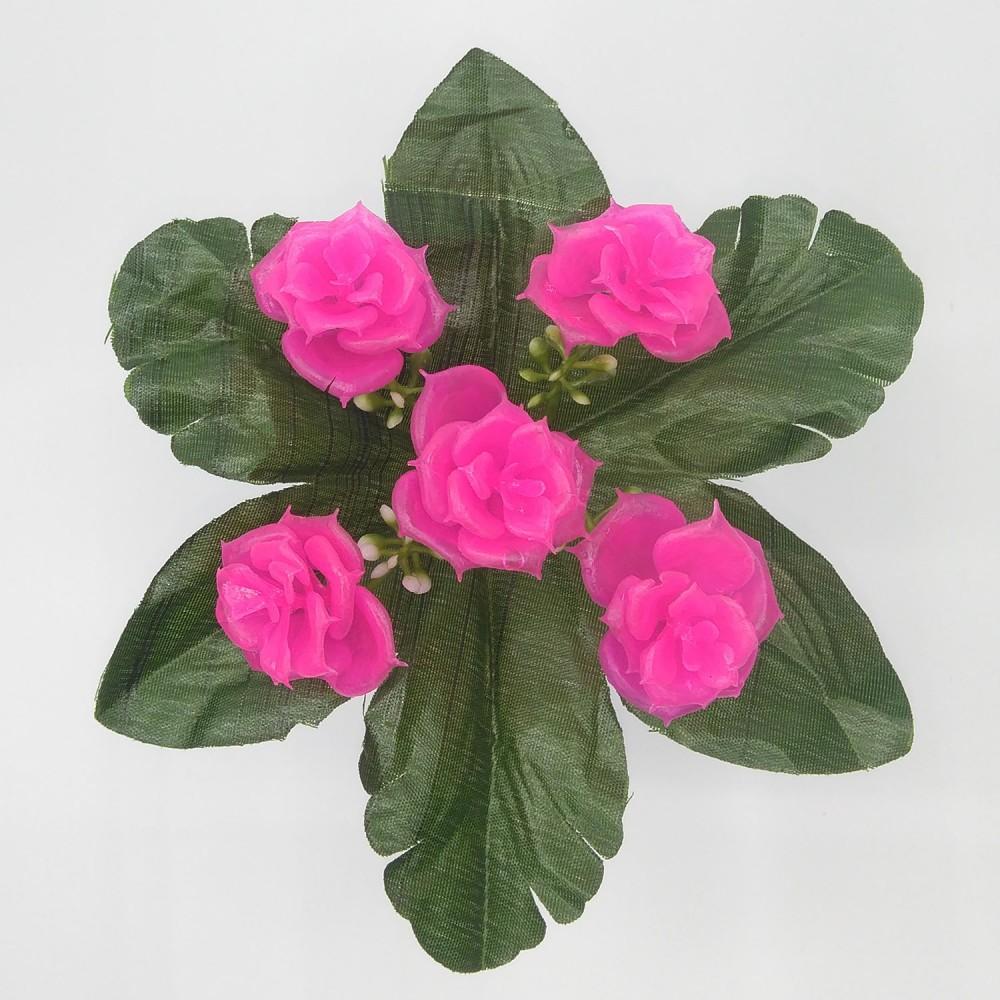 Роза пластик 5-ка Артикул: 41802
